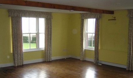 West Cork drawing room before