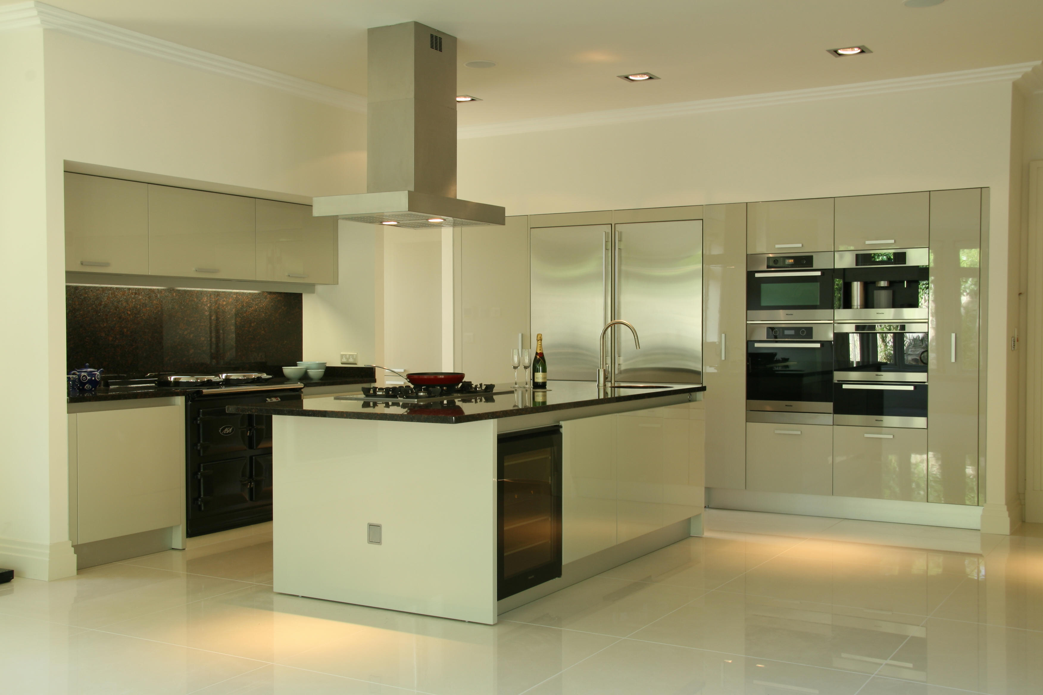 Residential foxrock dublin aurora aleson interior for Apartment kitchen design dublin